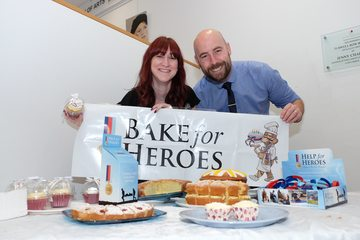 Building society bakes for heroes