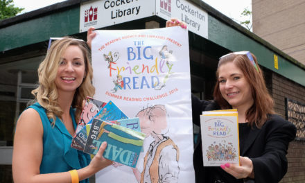 Building society supports library summer scheme