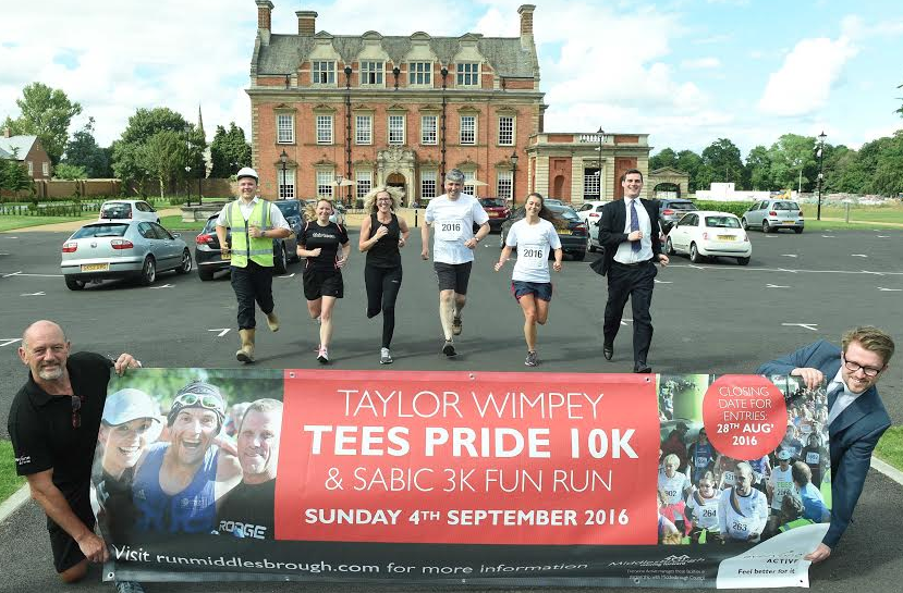 2016 Tees Pride 10K Officially Launched at Acklam Hall