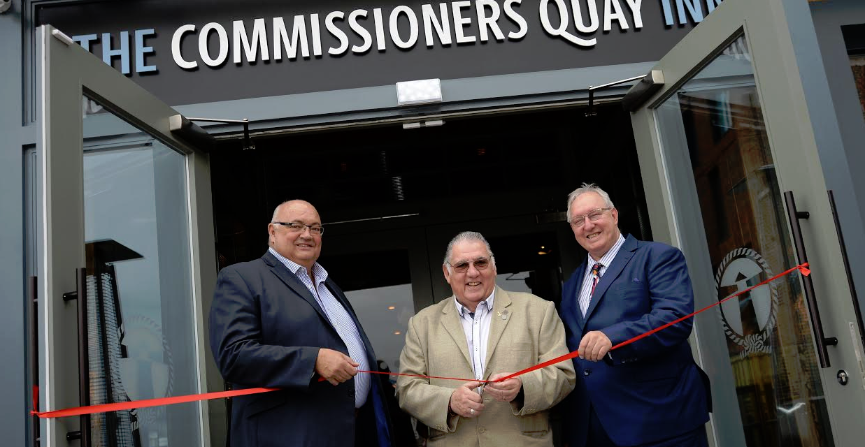 Multi-million pound Commissioners Quay Inn opens its doors for business