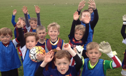 Children campaign to save their playing fields