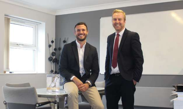 Entrepreneurial Teesside duo mark milestone in oral care business