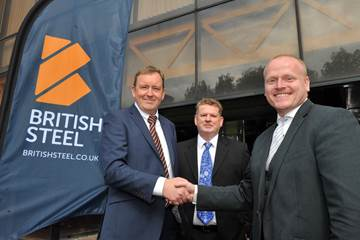 British Steel in landmark partnership with Materials Processing Institute
