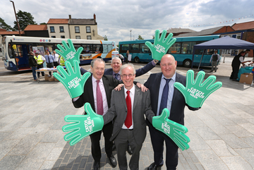 North East Bus Companies celebrate 'catch the bus week'