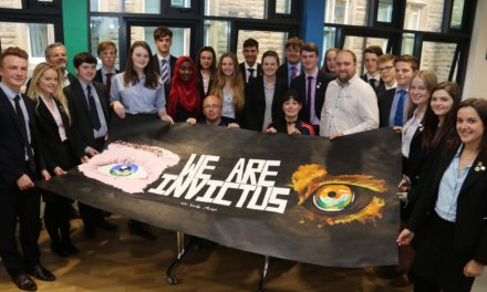 Invictus athletes help sixth formers gain first taste of industry