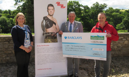 Council staff raise funds for the soldiers charity