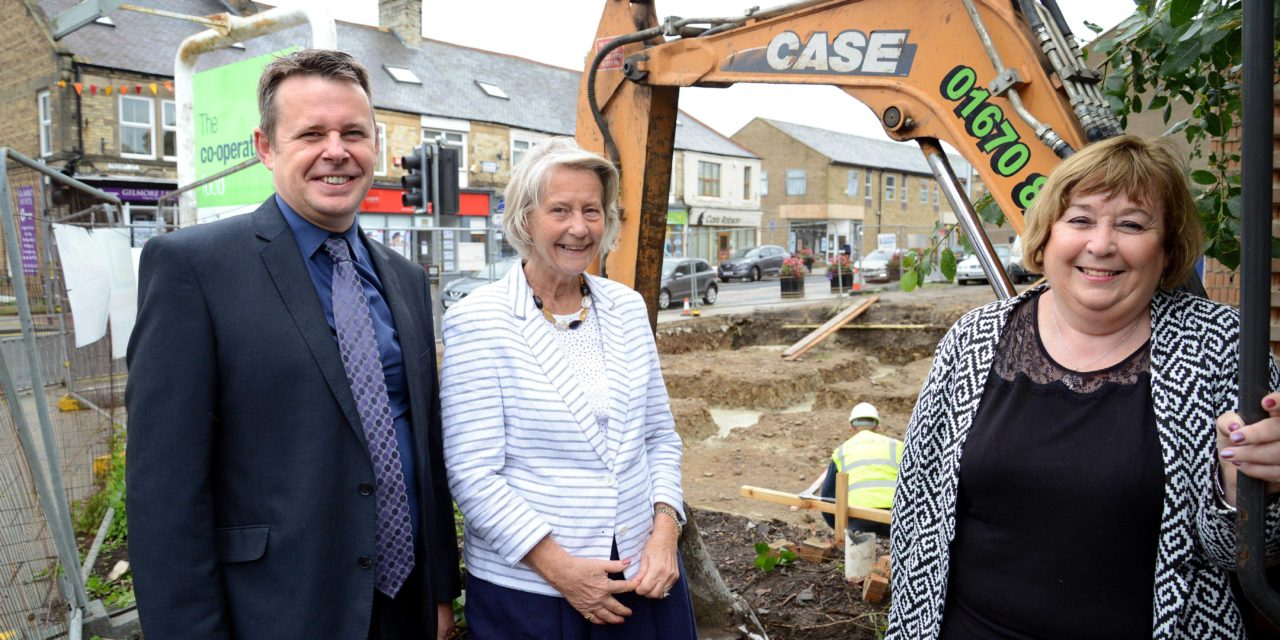 New homes and shops for Prudhoe