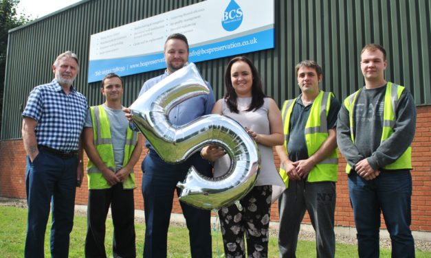 North East contractor celebrates anniversary by raising thousands for charity