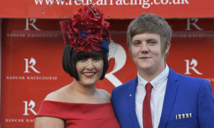 Top hats, waist coats, fascinators and heels head to Redcar