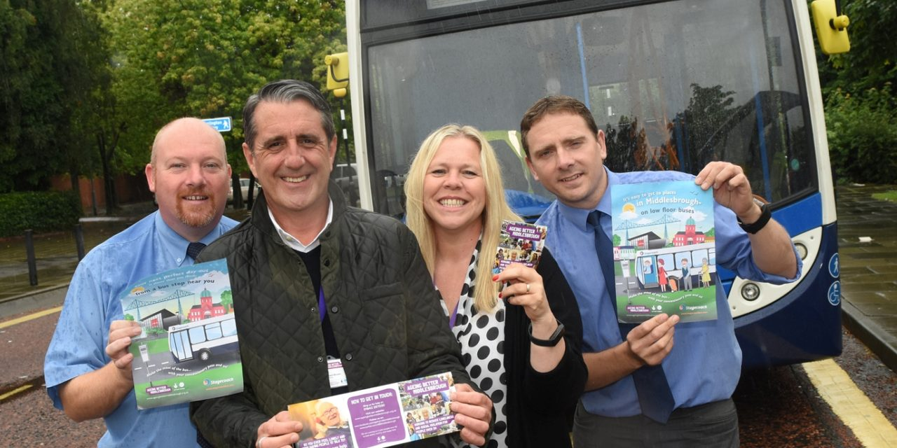 Bus Operator Partners with Ageing Better Middlesbrough in Drive to Boost Community Support