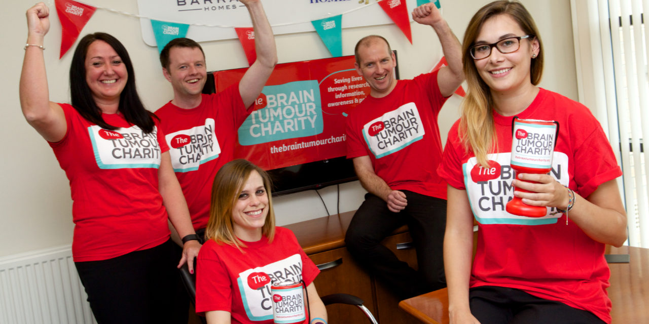 Charity fundraising partnership set to be a huge success with support from York based Barratt Developments
