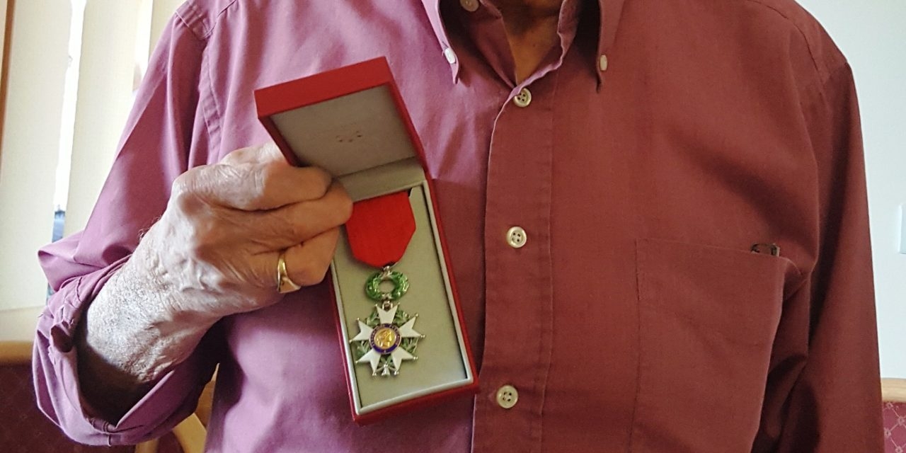 Consett Resident Awarded France's Highest Honour