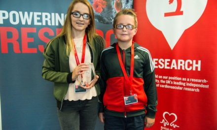 Bransholme brother and sister recognised as a Heart Heroes