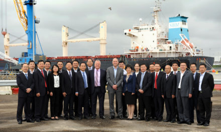 Chinese Business Leaders Visit Port of Tyne