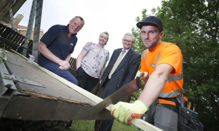Free roof make-over for Hospice as it wins 2016 Community Challenge