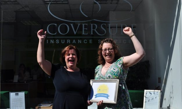 Coversure Announced as Finalist in National Insurance Award