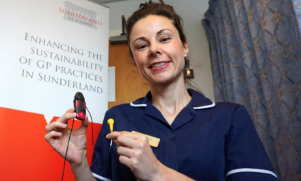 Launch of Community ECG Service reduces waiting times for GP Patients in Sunderland