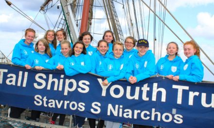 Students back from tall ship adventure