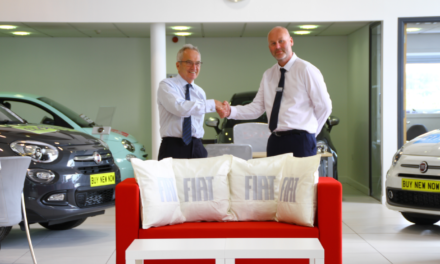Richard Hardie unveils new Fiat and Abarth Centre