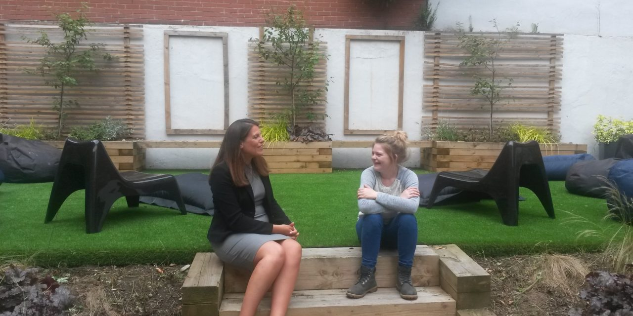 Home Group Hosts Minister at Young People's Supported Housing Scheme