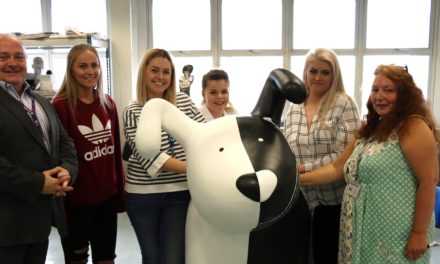 NBS make the pawfect partnership with Newcastle College
