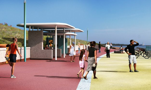 Putting the 'art back into the Northern Promenade