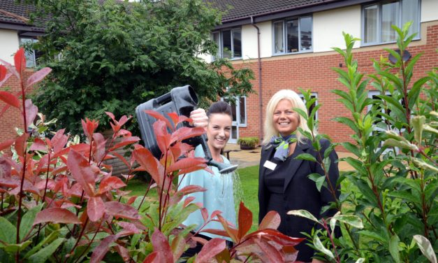 Stockton care home receives support from Barratt Homes North East for garden redevelopment