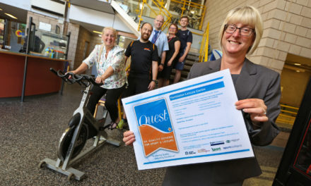 Hambleton Leisure Centre has been rated excellent