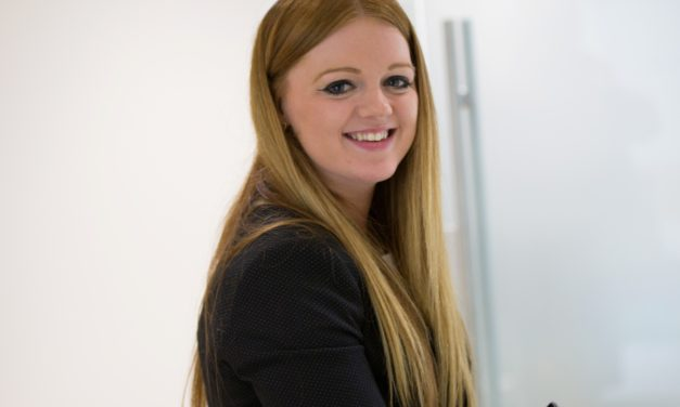 Rachael Takes Charge at Unique Library Branch of Newcastle Building Society