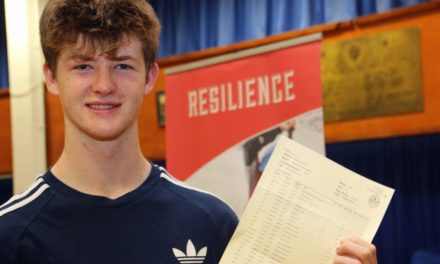 Top England Runner Sprints to Exam Success Richmond School GCSEs