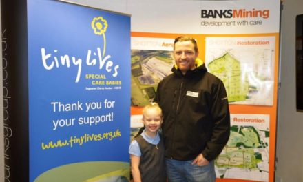 Banks Group Staff Pass £4,000 Mark in Fundraising Drive for Tiny Lives Trust