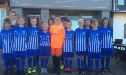 Whitley Bay Restaurant Kicks off Sponsorship of Youth Football Team