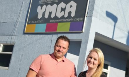New Ceiling takes the lid off YMCA Northumberland's Community Involvement Ambitions