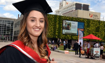 Clearing helped April change career direction