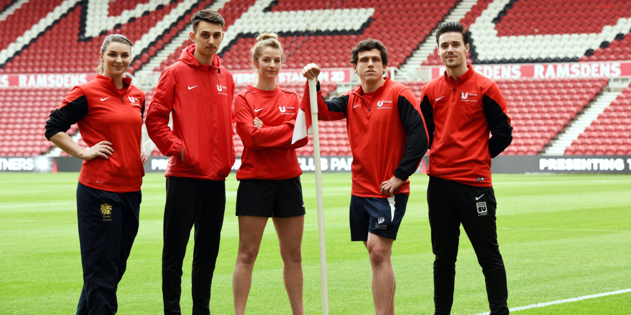 University shooting for success with football club partnership