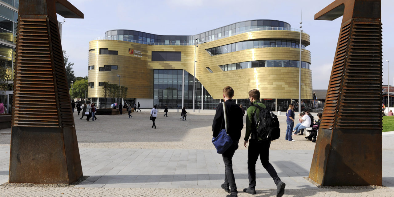 Student satisfaction on the rise at Teesside