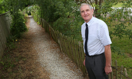 Grant Helps Safe Route at Busy Junction