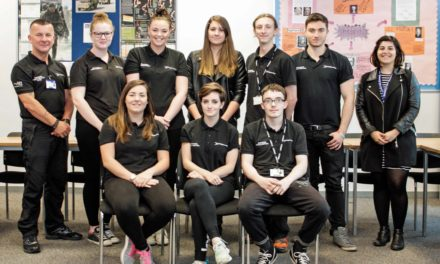 Students tackle three peaks to raise cash for charity