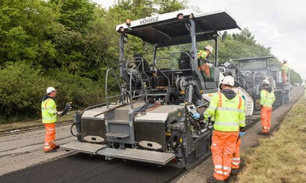 New resurfacing technology a UK first