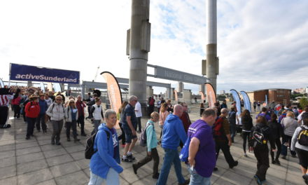 Still time to dust off your walking shoes for the Active Sunderland BIG Walk 2016