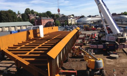 New Cleveland Bridge UK-manufactured bridge supports electrification of Great Western Main Line