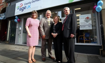 Official opening for new and improved Age UK County Durham premises