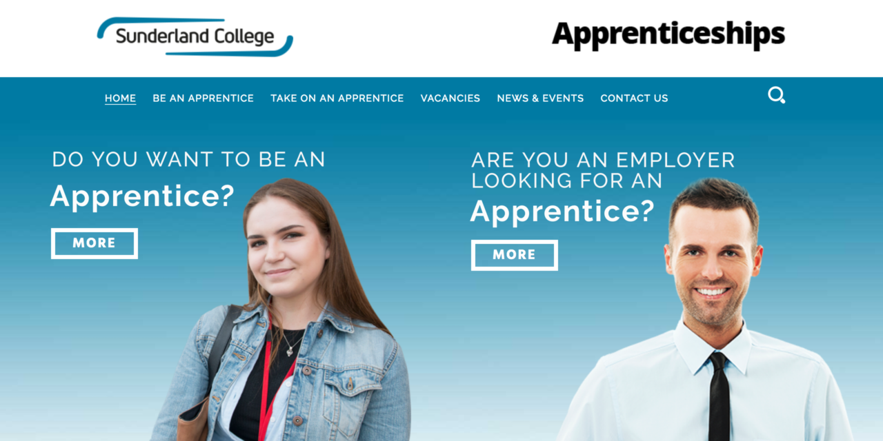 College takes a lead on apprenticeships