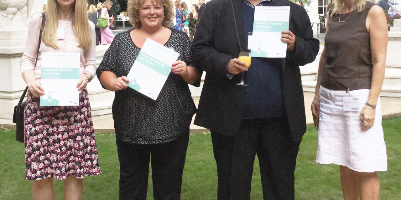 Domestic abuse self-help guide for people with learning disabilities praised at national awards