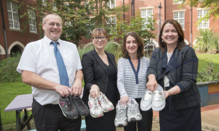 College team puts best foot forward