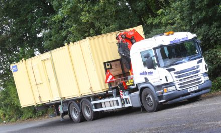 Mobile Mini fuels ambition with HGV Driver Training Programme
