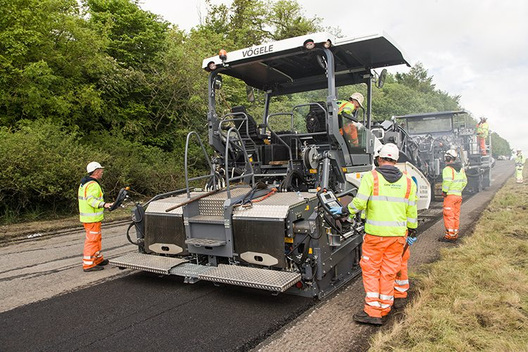 Pioneering technology being used on the A66(M)
