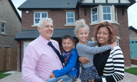 A new home for the Newbury family