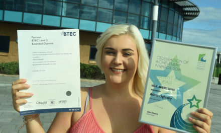 Triple distinctions for college students