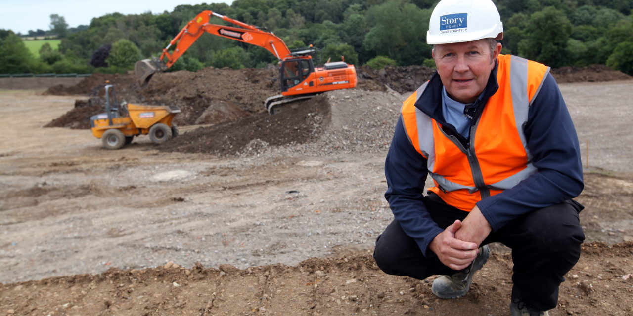 Story Homes starts work on site at Morpeth